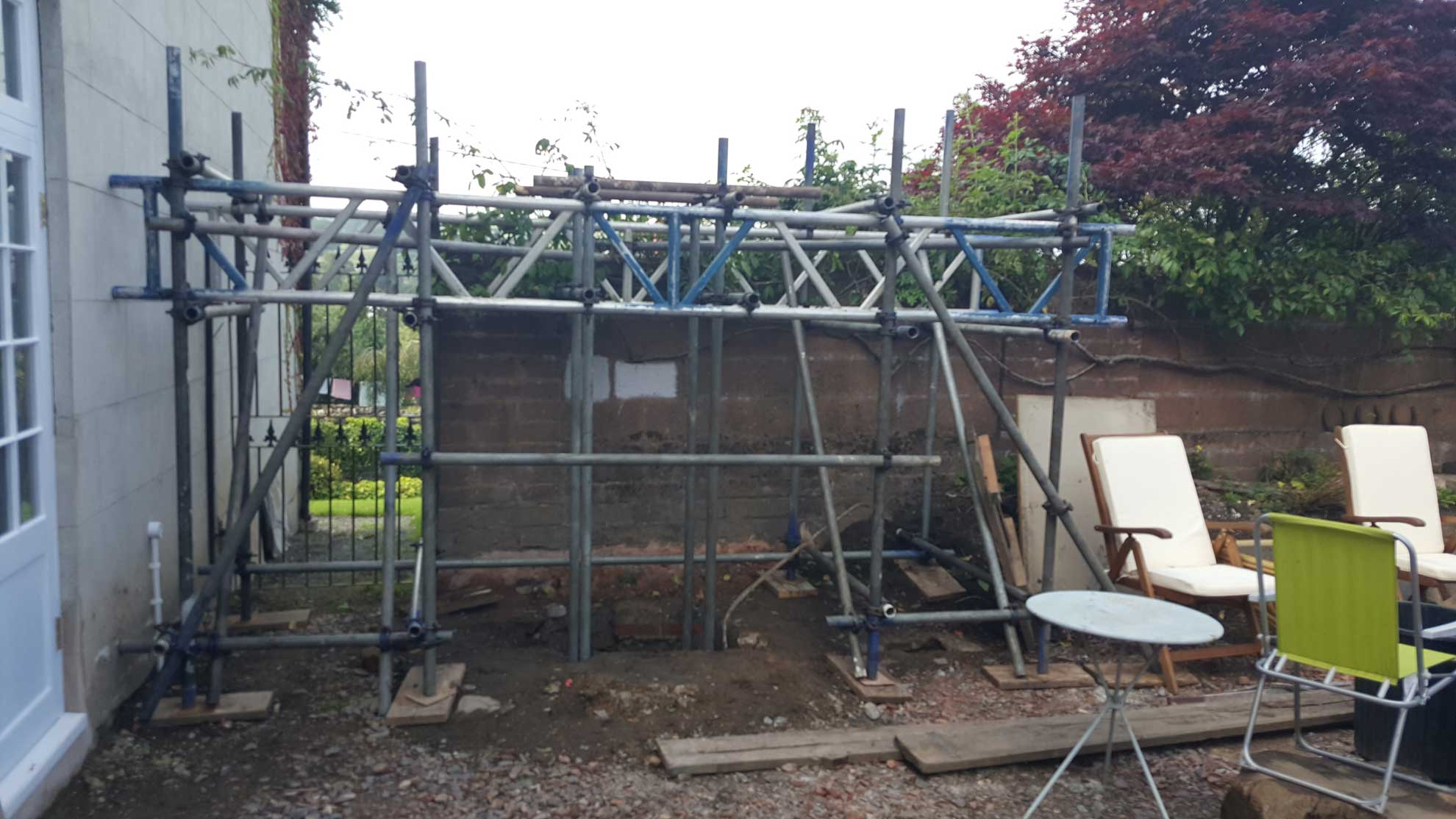 Birdcage Scaffolding Exeter and Tiverton - Rapid Scaffold Ltd