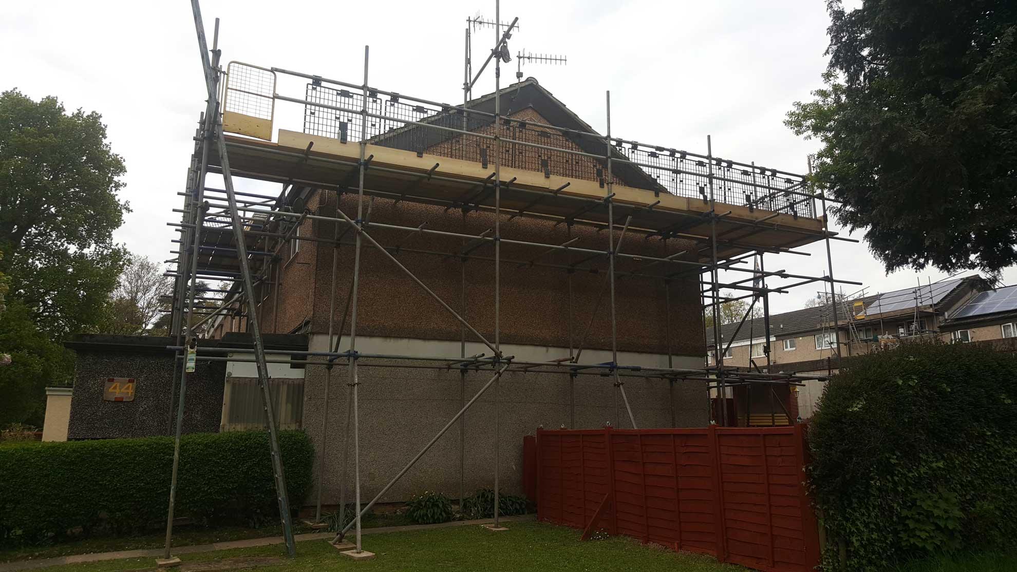 Roof Scaffolders Devon - Rapid Scaffold Ltd