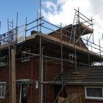 Roof Scaffolding In Devon