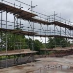 Scaffold For Building Development