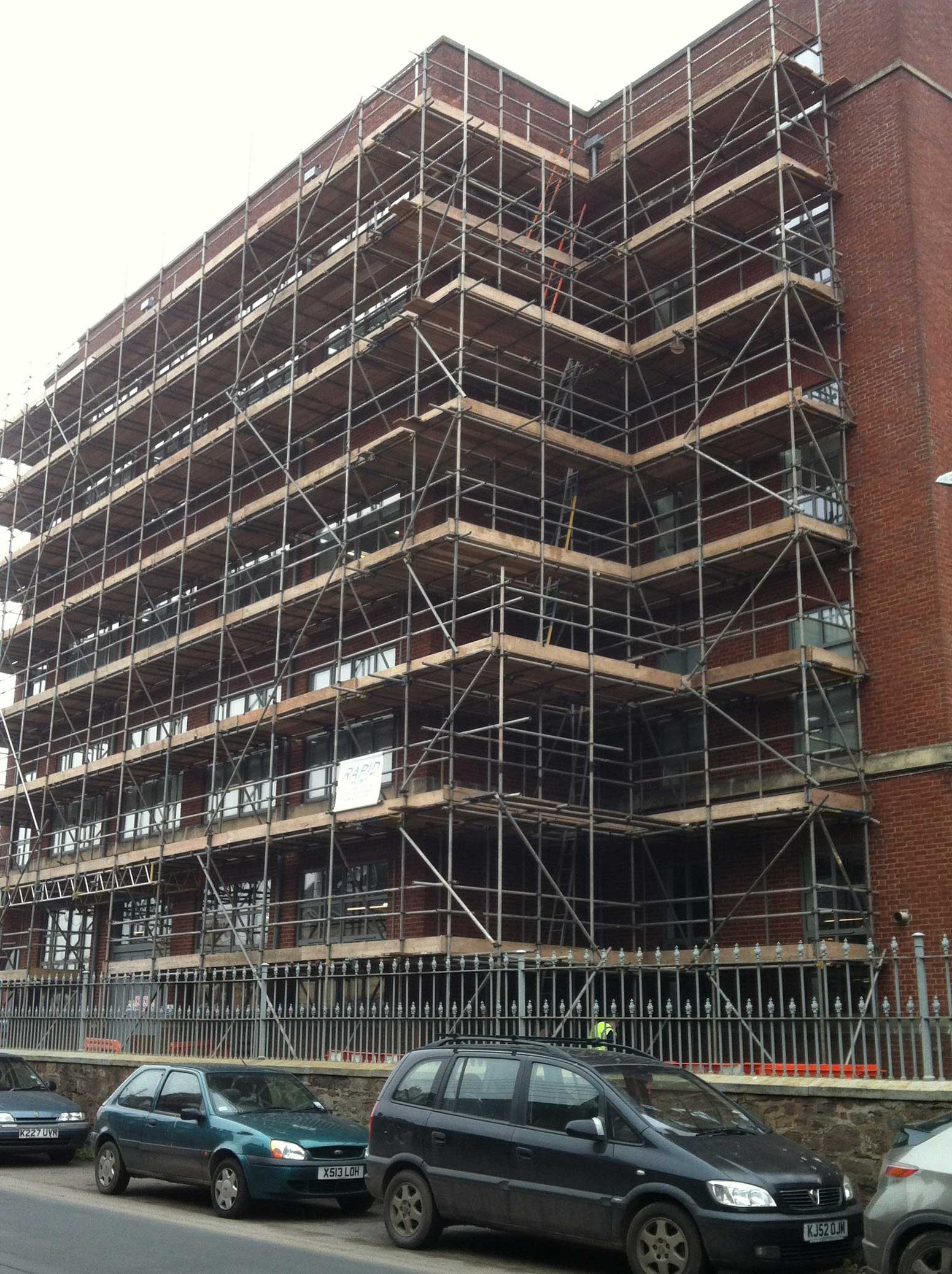 Scaffolding Exeter, Tiverton and Devon - Rapid Scaffold Ltd