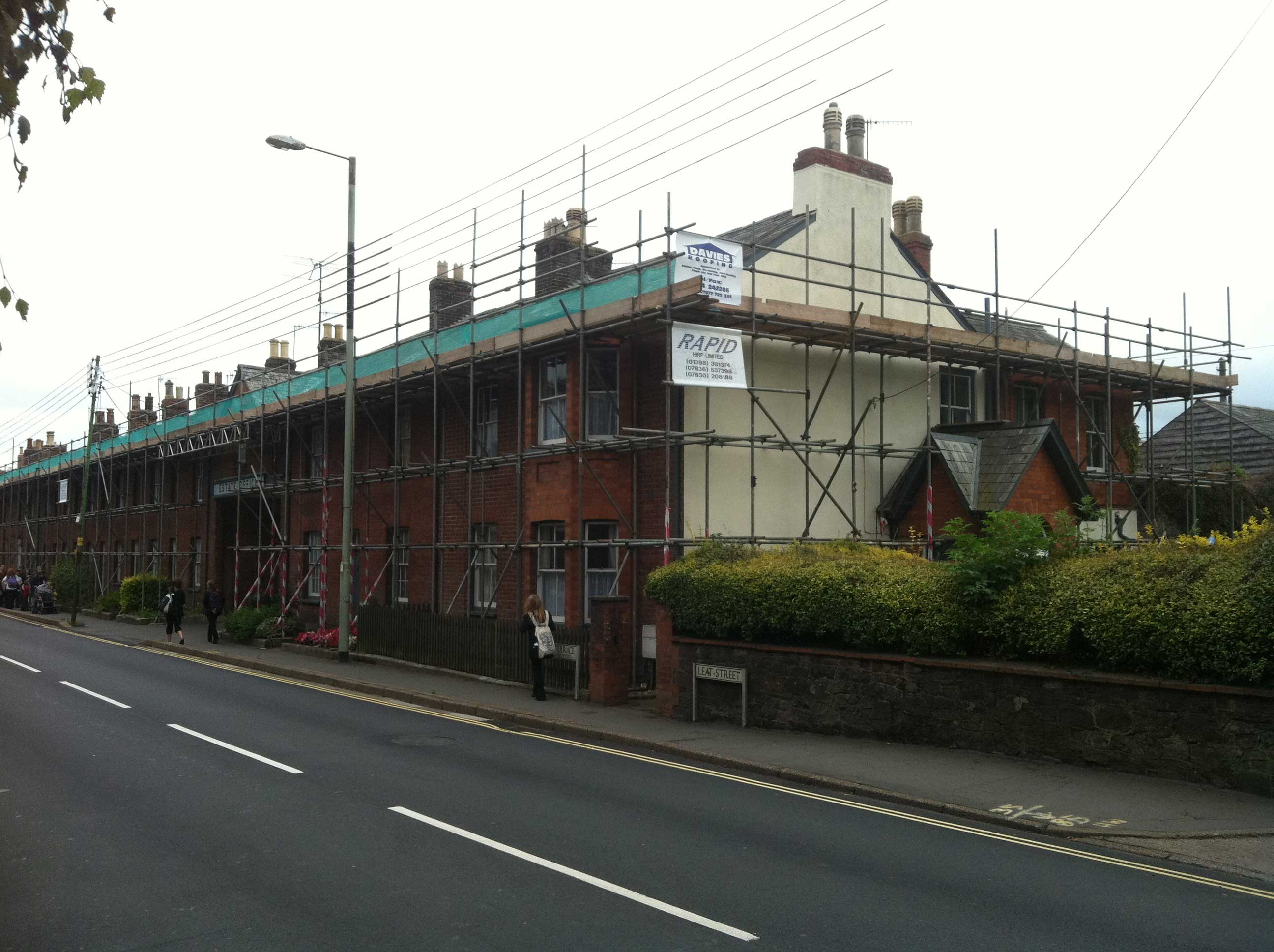 Scaffolding Contractors Exeter and Tiverton - Rapid Scaffold Ltd