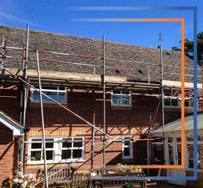 Roof Scaffold - Rapid Scaffold Ltd