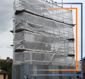 Scaffold Site Protection - Rapid Scaffold Ltd