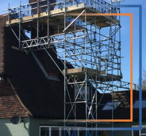 Chimney Scaffolding Exeter, Tiverton and Devon - Rapid Scaffold Ltd