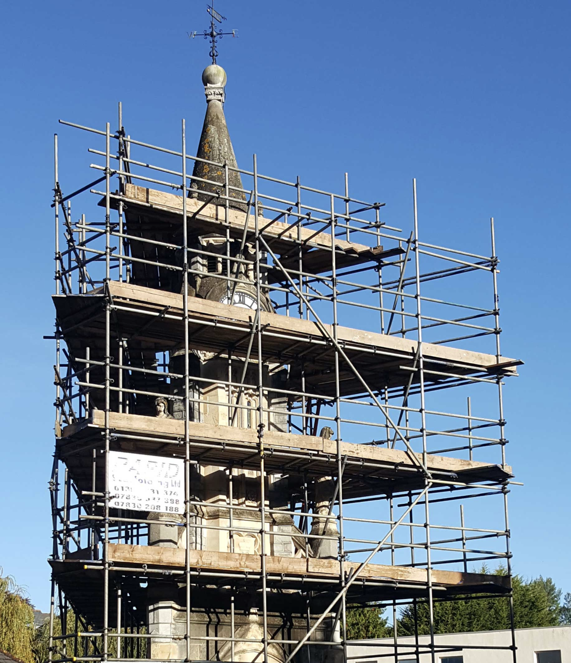 Scaffolding Services Exeter, Tiverton and Devon - Rapid Scaffold Ltd
